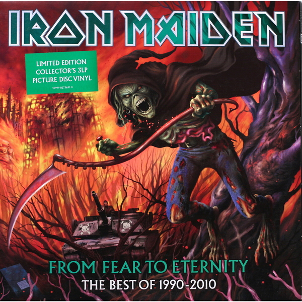 Iron Maiden Iron Maiden - From Fear To Eternity: The Best Of 1990-2010 (3 LP) iron maiden the book of souls 3 lp