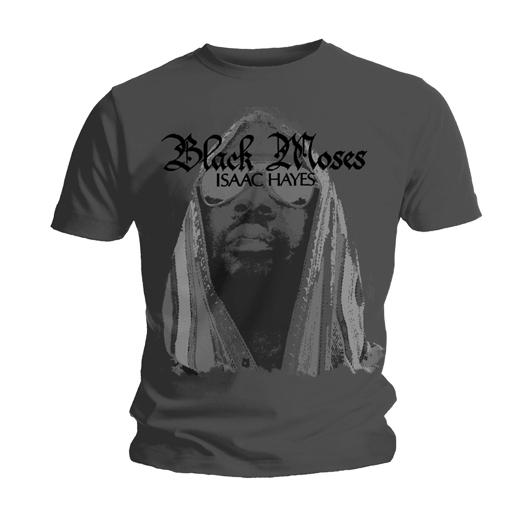 Футболка мужская Isaac Hayes - Black Moses Grey (размер S)