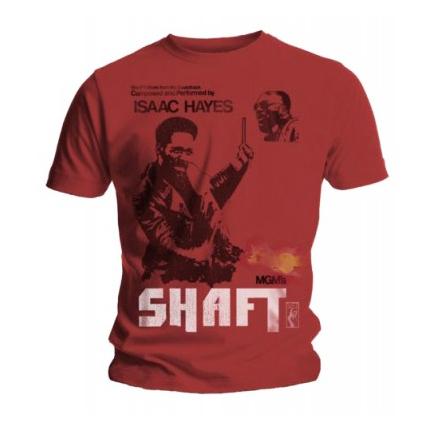 Футболка мужская Isaac Hayes - Shaft Red (размер S)