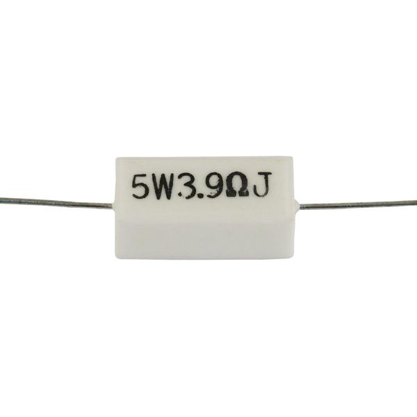 Резистор Jantzen 5W 3.90 Ohm ceramic adriatica 3162 1241qz
