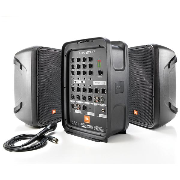 цена на Комплект профессиональной акустики JBL EON208P