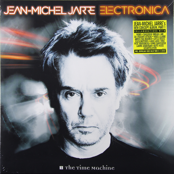 JEAN MICHEL JARRE JEAN MICHEL JARRE - ELECTRONICA 1: THE TIME MACHINE (2 LP) a suit of sweet rhinestoned hollow out necklace and earrings for women