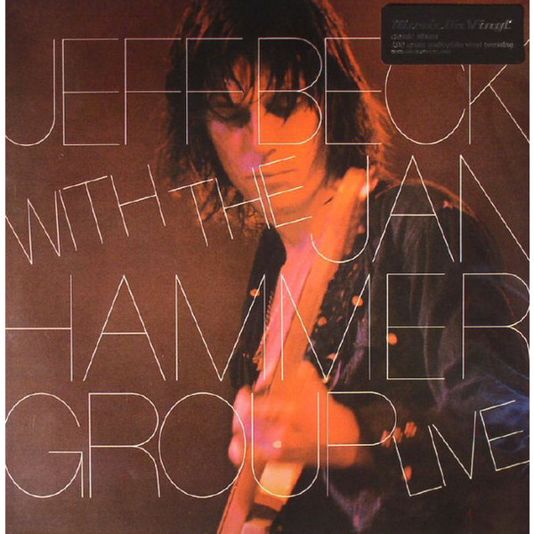 Jeff Beck Jeff Beck With Jan Hammer Group - Live jeff блузка