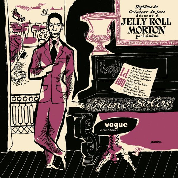 Jelly Morton Jelly Morton - Pianos Solos (colour)