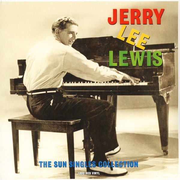 Jerry Lee Lewis Jerry Lee Lewis - Sun Singles (colour) phil collins singles 4 lp
