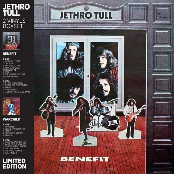 Jethro Tull Jethro Tull - Benefit / Warchild (2 LP) ian anderson plays the orchestral jethro tull