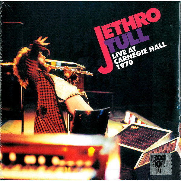 JETHRO TULL JETHRO TULL - LIVE AT CARNEGIE HALL 1970 (2 LP) ian anderson plays the orchestral jethro tull