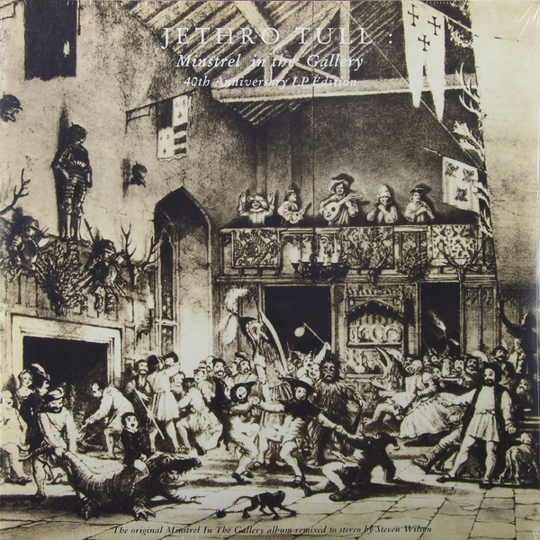 JETHRO TULL JETHRO TULL - MINSTREL IN THE GALLERY (40TH ANNIVERSARY)Виниловая пластинка<br><br>
