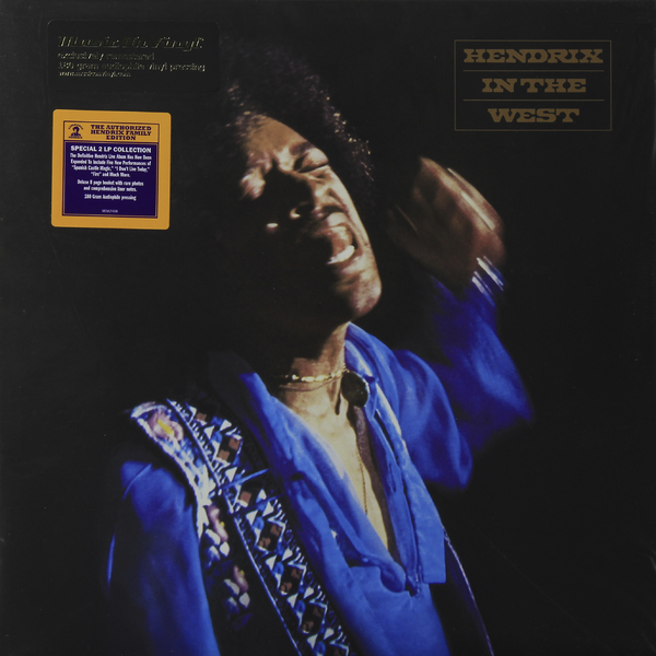 JIMI HENDRIX JIMI HENDRIX-IN THE WEST (2 LP, 180 GR)