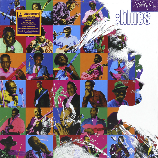 Jimi Hendrix Jimi Hendrix - Blues (2 Lp, 180 Gr) guano apes guano apes proud like a god 180 gr colour