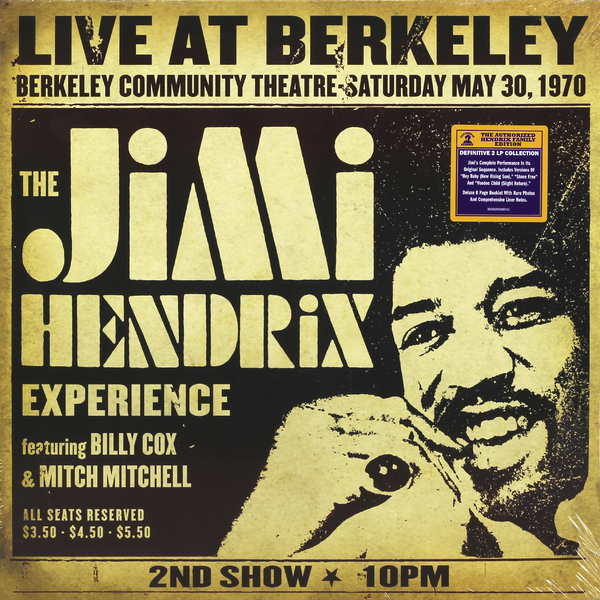Jimi Hendrix Jimi Hendrix - Live At Berkeley (2 LP) blog
