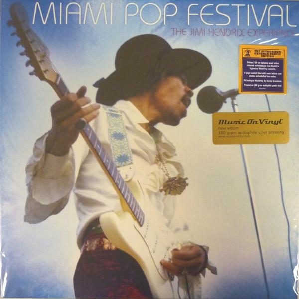 JIMI HENDRIX JIMI HENDRIX - MIAMI POP FESTIVAL (2 LP) jimi hendrix jimi hendrix purple haze foxey lady 7