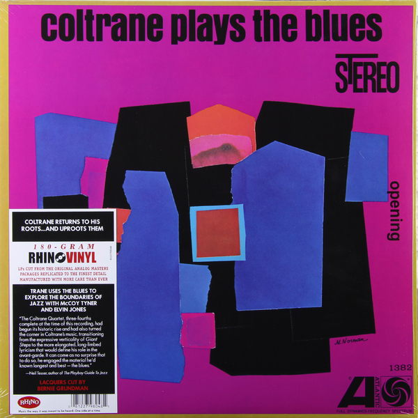 John Coltrane John Coltrane - Coltrane Plays The Blues (180 Gr) peppa plays football
