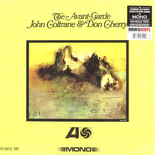 John Coltrane John Coltrane   Don Cherry - The Avant-garde (mono Remaster, 180 Gr) купить