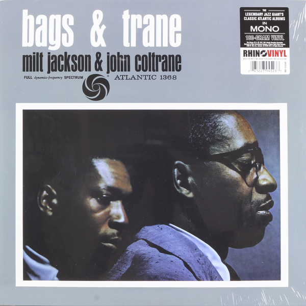 JOHN COLTRANE JOHN COLTRANE   MILT JACKSON -  BAGS   TRANE (MONO REMASTER) john