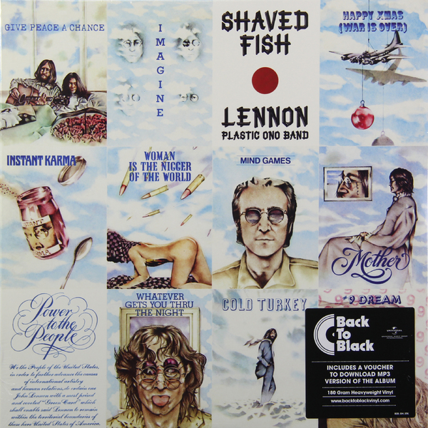 John Lennon John Lennon - Shaved Fish (180 Gr) guano apes guano apes proud like a god 180 gr colour