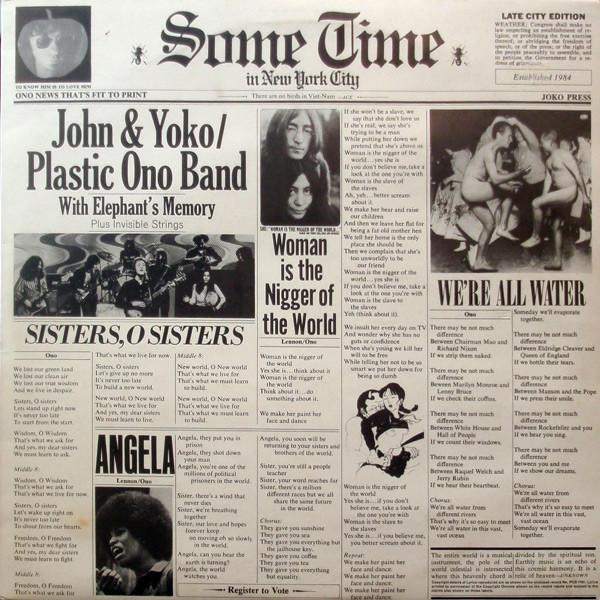 JOHN LENNON JOHN LENNON - SOME TIME IN NEW YORK CITY (2 LP) john lennon john lennon lennon 9 lp