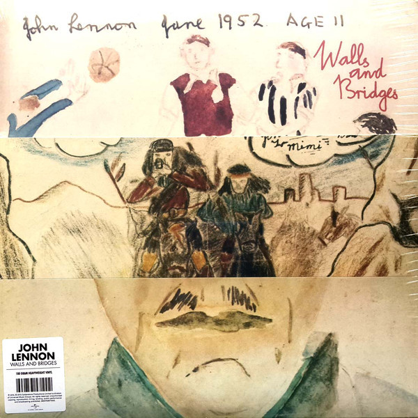 JOHN LENNON JOHN LENNON - WALLS AND BRIDGES майка civic lennon 4111