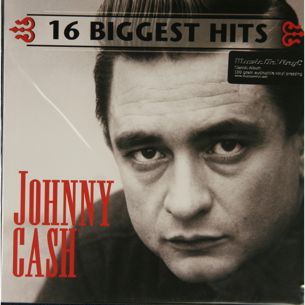 Johnny Cash Johnny Cash - 16 Biggest Hits (180 Gr) джонни кэш cash johnny 8 classic albums 4cd