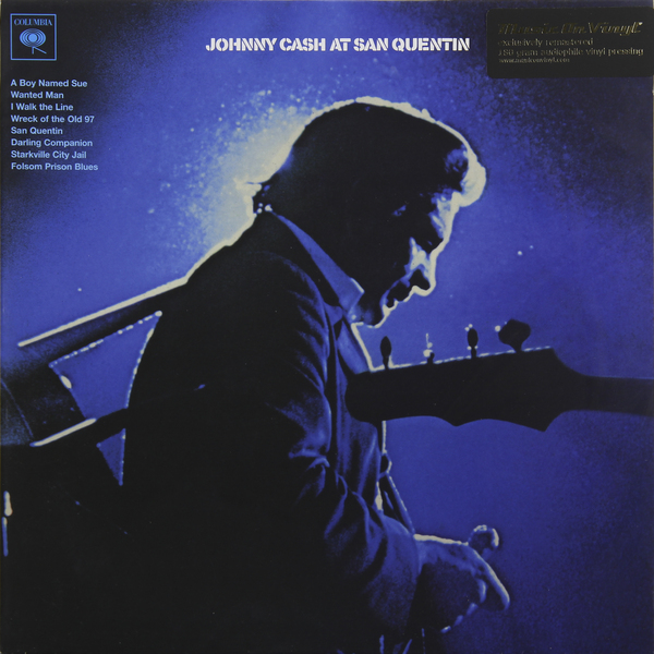 Johnny Cash Johnny Cash - At San Quentin (180 Gr) джонни кэш cash johnny 8 classic albums 4cd
