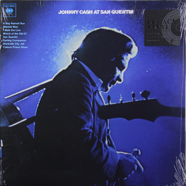 Johnny Cash Johnny Cash - At San Quentin джонни кэш cash johnny 8 classic albums 4cd