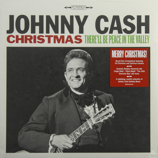 Johnny Cash Johnny Cash - Christmas: There'll Be Peace In The Valley джонни кэш cash johnny 8 classic albums 4cd