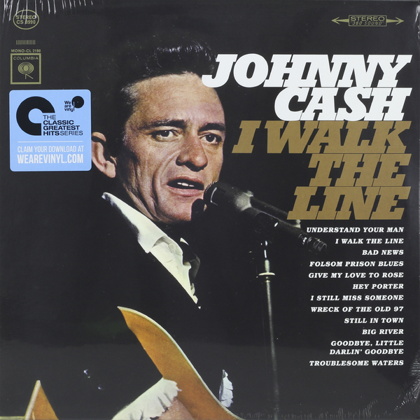 Johnny Cash Johnny Cash - I Walk The Line джонни кэш cash johnny 8 classic albums 4cd