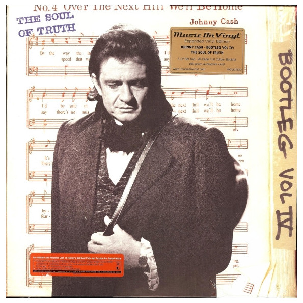 JOHNNY CASH JOHNNY CASH - THE BOOTLEG SERIES VOL. 4: THE SOUL OF TRUTH (3 LP) oliver simon fbp federal bureau of physics vol 4