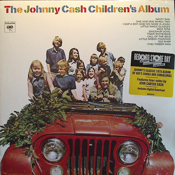 Johnny Cash Johnny Cash - The Johnny Cash Children's Album джонни кэш cash johnny 8 classic albums 4cd