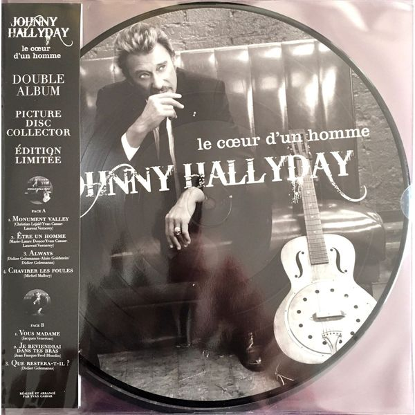 Johnny Hallyday Johnny Hallyday- Le Coeur D'un Homme (2 Lp, 180 Gr) guano apes guano apes proud like a god 180 gr colour