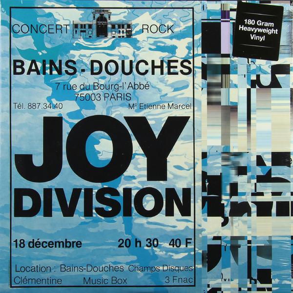 JOY DIVISION JOY DIVISION - LIVE AT LES BAINS DOUCHES, PARIS, DECEMBER 18, 1979 (180 GR)