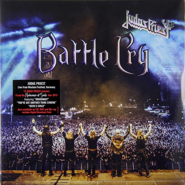Judas Priest Judas Priest - Battle Cry (2 LP) cd judas priest redeemer of souls