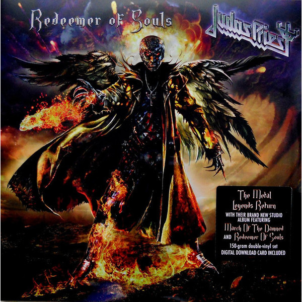 Judas Priest Judas Priest - Redeemer Of Souls (2 LP) riggs r library of souls