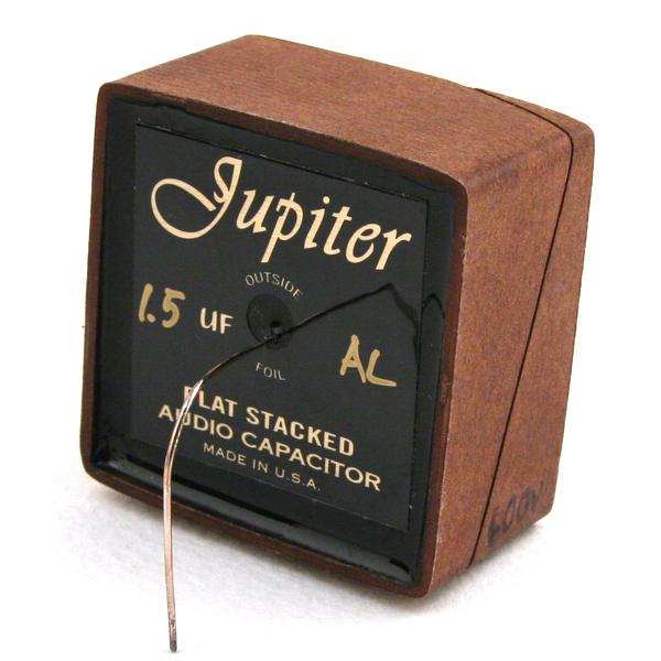 Конденсатор Jupiter Condenser Jupiter HT Flat Stack Cryo Beeswax-Paper 600V 1.5 uF