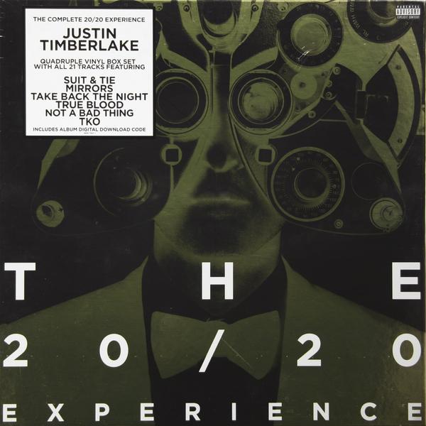 Justin Timberlake Justin Timberlake - 20/20 Experience: Complete (4 LP) уроки с justin timberlake cdpc