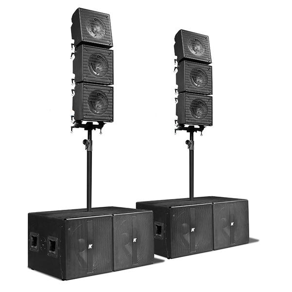 Комплект профессиональной акустики K-array