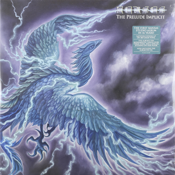 KANSAS KANSAS - THE PRELUDE IMPLICIT (2 LP + CD) plantagenet prelude