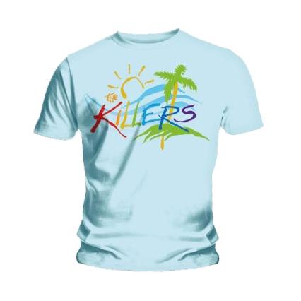 Футболка мужская Killers - Day   Age Retro Blue (размер XL)