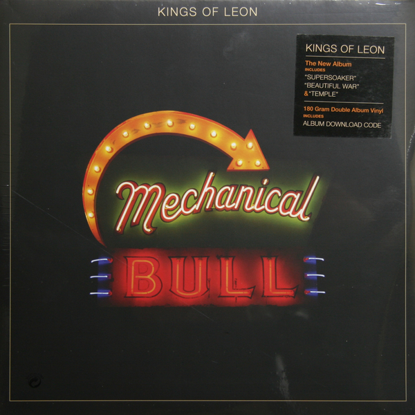 KINGS OF LEON KINGS OF LEON - MECHANICAL BULLS (2 LP, 180 GR) kings of leon early years 180 gram box set