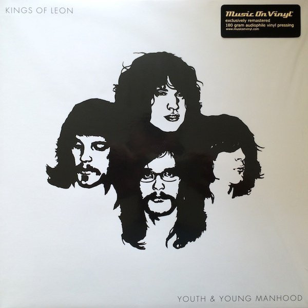 KINGS OF LEON KINGS OF LEON - YOUTH AND YOUNG MANHOOD (2 LP) kings of leon early years 180 gram box set