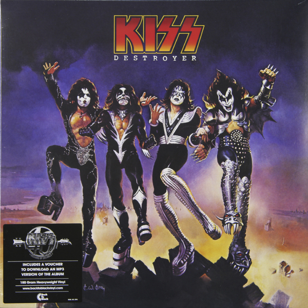 KISS KISS - DESTROYER (180 GR) kiss kiss creature of the night 180 gr