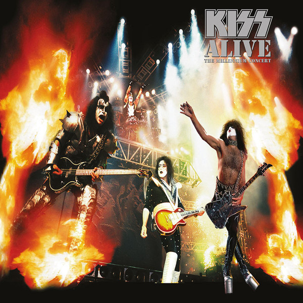 KISS KISS - Alive – The Millennium Concert (2 LP) the black keys the black keys el camino 2 lp