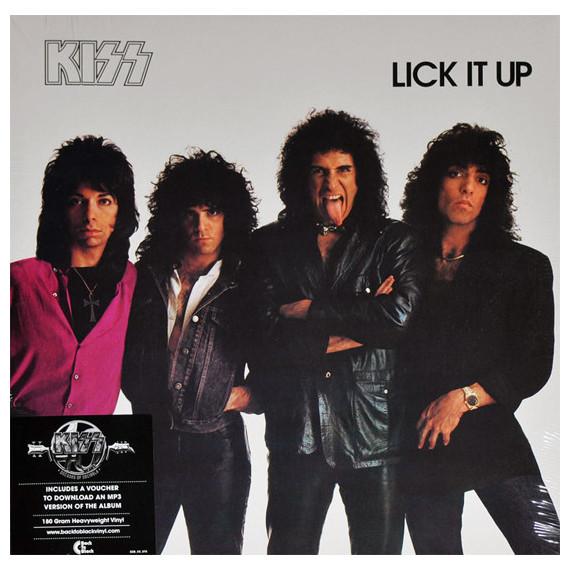 KISS KISS - Lick It Up kiss kiss monster lp