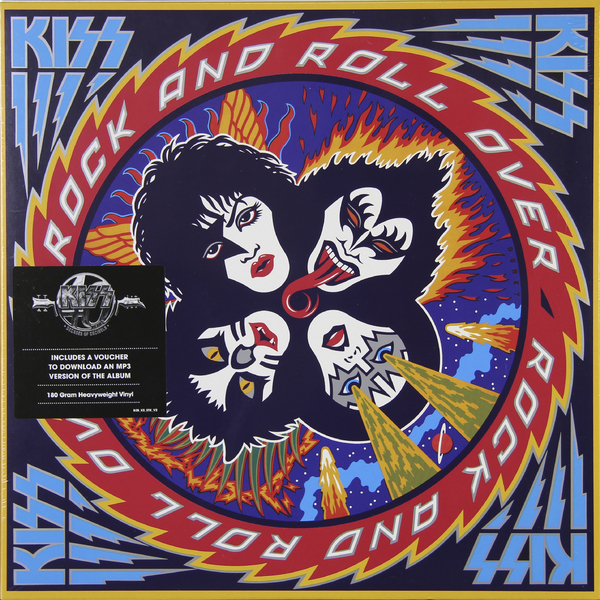 KISS KISS - Rock And Roll Over (180 Gr) kiss kiss rock and roll over 180 gr