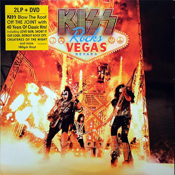 KISS KISS - Rocks Vegas (2 Lp+dvd) kiss kiss rocks vegas 2 lp dvd