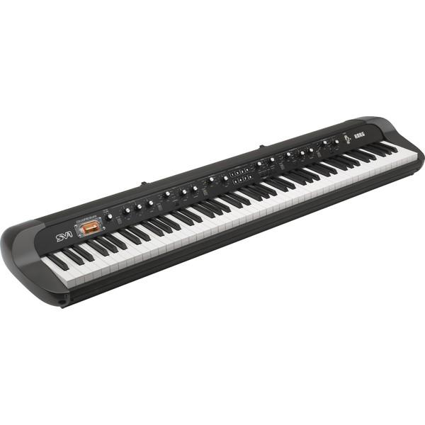 Цифровое пианино Korg SV1-88 BK держатель для туалетной бумаги milardo amur хром amusmc0m43