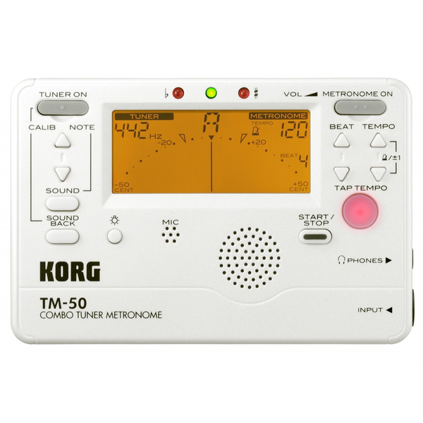 Гитарный тюнер Korg TM-50W tm chocolatte биотоник для лица аква баланс с пребиотиками 100 мл