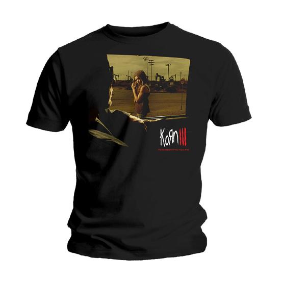 Футболка мужская Korn - Remember Who You Are Black (размер XL)Футболка мужская<br><br>