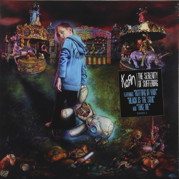 KORN KORN - The Serenity Of Suffering the serenity of suffering cd