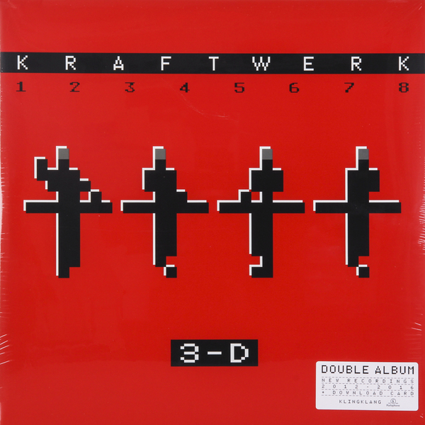 Kraftwerk Kraftwerk - 3-d The Catalogue (2 LP) the black keys the black keys el camino 2 lp